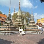 Stupas in the Courtyard at Wat Po