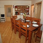 Coach House dining/ kitchen are with useful dresser