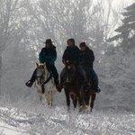 Winter fun riding!