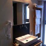Das Bad in Zimmer 617