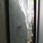 La douche extérieure