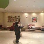 área del lobby ideal para encuentro de amig@s