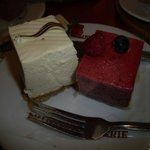 Cheesecake and Berry Mousse