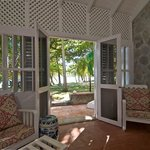 View from Mustique Room at Sugar Reef's Beach House