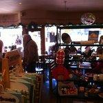 Part gift shop/ part sitting area