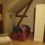 intérieur de l'appartement - premier lit