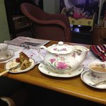Lovely chilled visit to Sophie T's vintage tea room in Yaxley, such a relaxed