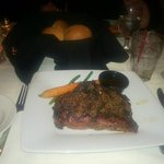 New York Strip Steak 14oz char grilled angus  $38