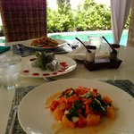 Healthy and delicious in-villa food options