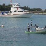 Maafushi harbor