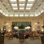 Terrace restaurant off the lobby....