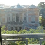 View of the Prado from sitting room....
