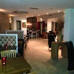 Our new cosy booths and kings table for 8 people