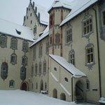 castillo de Hohe Schloss en el pueblo de Füssen