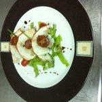 Lobster apetizer/Entrée de langouste