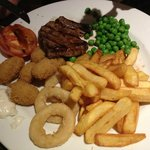 Surf And Turf (Steak & Scampi)  - at The Pear Tree, Cleethorpes