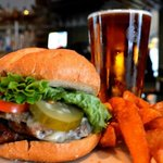 Wagyu Burger & Beer special