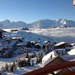 vue de la suite 329 sur l'Alpe d'huez Janvier 2013 topisime...