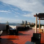 The FABULOUS RoofTop Lounge area