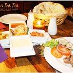 Food Display at Khan Baba