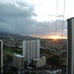 Environnement, vue du 27e étage