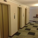 Elevators in hotel