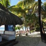 Very nice grounds and cabana