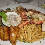 ・Blue mussel ・Shrimp ・Lobster ・Grilled Fish(Walu) ・Fish fry(hark)-Fish and chi