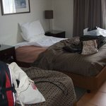 Our room - sorry about the mess :-)