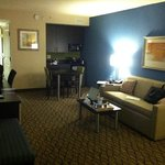 livingroom of suite