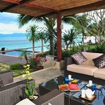 Banyan Beach Villa - Terrace with a view