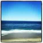 The ocean near the hotel