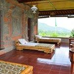 Terrasses des chambres Teratai, Lotus et Kenanga