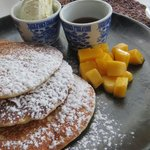 Abundant choice for breakfast