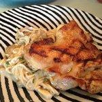 spaghetti & chicken chop - Yammy