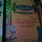 Cool menu.