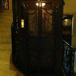 A classic OTIS elevator