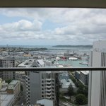 View to Auckland Harbour (23rd floor)