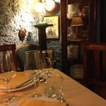 """""""il grottino"""" una mini sala praticamente privata."""