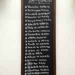 Lista de Tapas