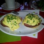 Probably the best Eggs Benedict I have had!