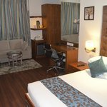 all the necessaries facilities plus five star facilities are provided in room