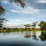 Herrlicher Ausblick auf den Kilimanjaro...