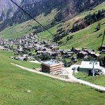 View from Vals gondolas