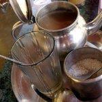 Masala tea at Sunrise