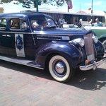 Elegant Packard back on the foreshore