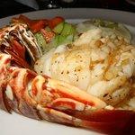 Lobster Dinner at Gustos