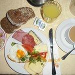 Ein Frühstück..läßt keine Wünsche offen