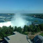 Horseshoe Falls by day! (from the room!)