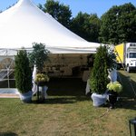 Wedding tent for groups over 50